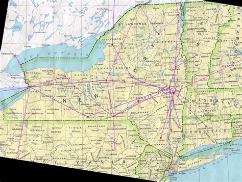 map of upstate new york map of upstate ny my