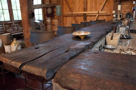 wood bar top ideas 17 best images about restored old barns kitchens on
