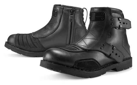 motocross boots size 9 icon 1000 el bajo boots revzilla