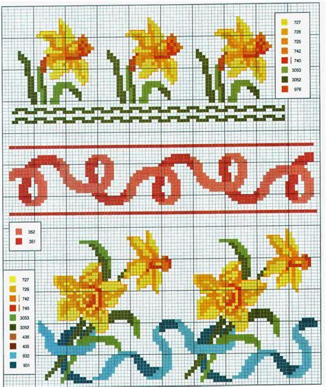 cornici a punto croce grande raccolta di schemi e grafici per punto croce free