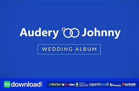 Wedding Album Videohive by Timeline Wedding Album After Effects Project Videohive