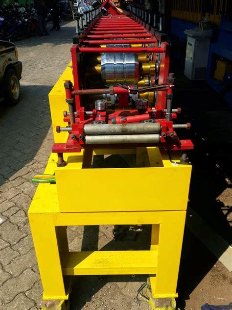 Rangka Baja harga mesin rollforming baja ringan hollow murah indonesia