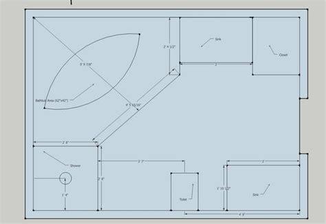 master bathroom size facing potential master bath reno ceramic tile advice