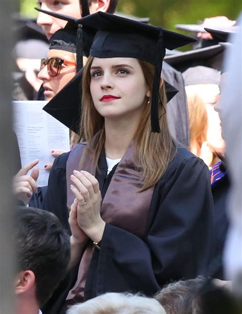 Emma Watson Graduation | emma watson graduates from brown university 182009