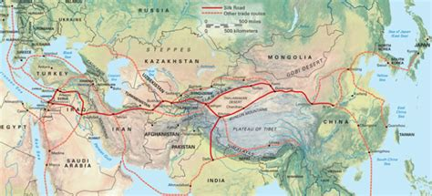 silk road map study silk road ap world class weebly