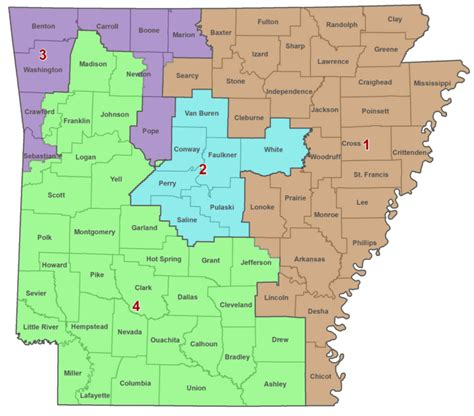 us representatives arkansas map arkansas congressional district map swimnova