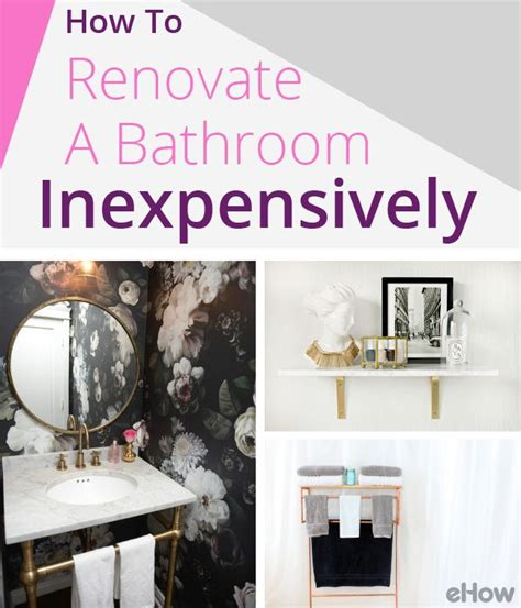 how to renovate a house with no money 17 best images about bathrooms reved on pinterest