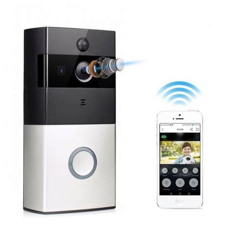 doorbell with and wifi itd gear wifi smart home doorbell security w