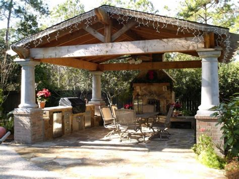 outdoor kitchen and fireplace designs outdoor room design ideas for any budget landscaping