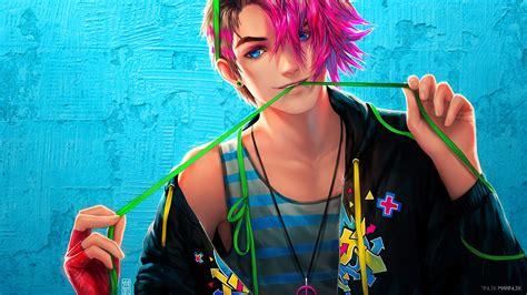 wallpaper android anime boy stylish anime boy hd wallpaper m9themes
