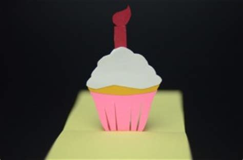 pop up cupcake card template pop up card tutorials and templates creative pop up cards