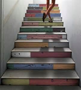 treppen farben treppenhaus gestalten ideen die ihre kreativit 228 t steigern