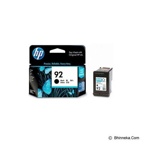 Tinta Catridge Printer Hp 92 Black jual hp black ink cartridge 92 c9362wa murah bhinneka