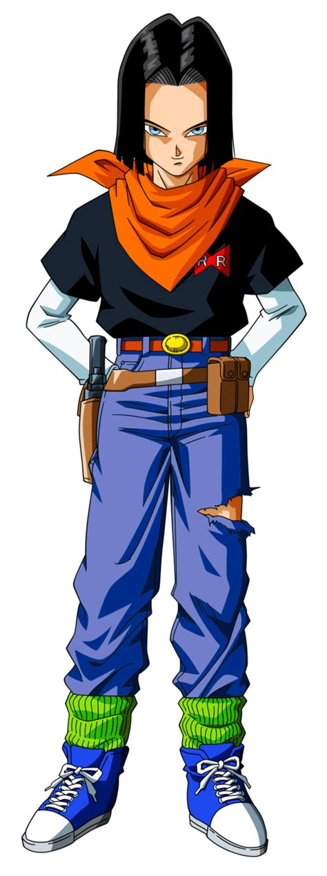 z android 17 androide 17 by feeh05051995 on deviantart