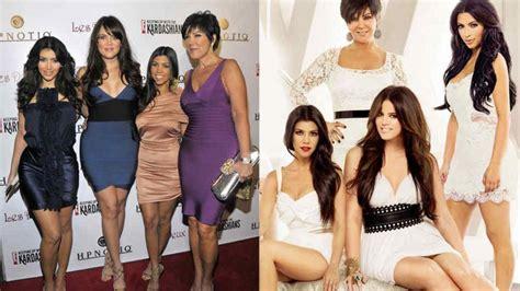 imagenes de la familia kardashian el antes y despu 233 s de la familia kardashian desde el