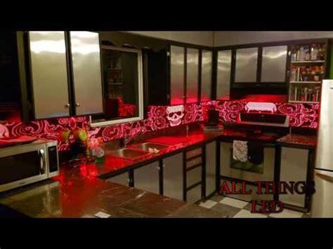 led back splash led animation kitchen backsplashes