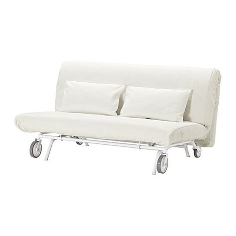 Two Seater Sofa Bed Ikea by Ikea Ps L 214 V 197 S Two Seat Sofa Bed Gr 228 Sbo White Ikea
