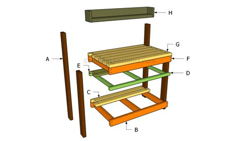 build a potting bench build my own shed kit dining table plans modern plans
