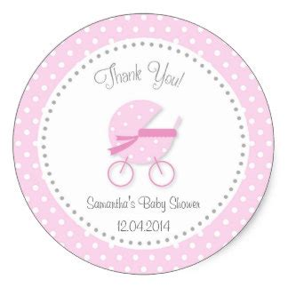 Sticker Labels For Baby Shower Favors by Baby Shower Stickers Zazzle