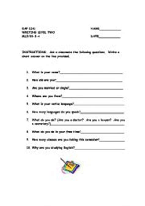 biography interview questions for elementary students english teaching worksheets simple present
