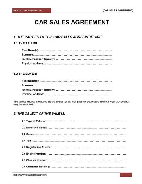 sle purchase agreements 42 printable vehicle purchase agreement templates