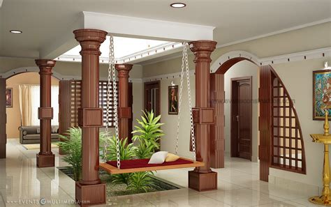 kerala style home plans with interior courtyard