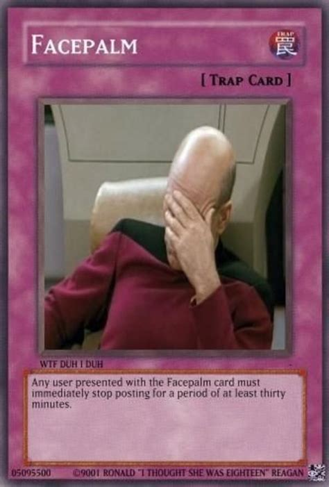 Trap Card Meme - image 63499 you just activated my trap card know