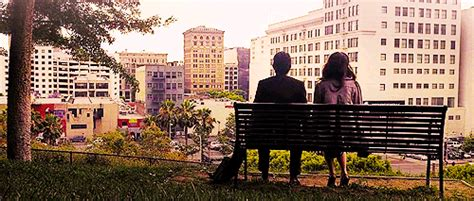 500 days of summer bench 500 days of summer