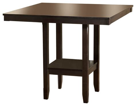 Indoor Bar Table Arcadia Counter Height Table Transitional Indoor Pub And Bistro Tables By Furniture East Inc