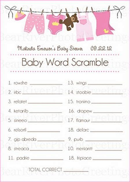 baby shower activity ideas baby shower food ideas baby shower ideas for guests