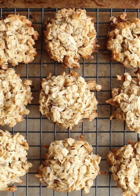 Coconut Oatmeal Cookies coconut lover s oatmeal cookies barefeetinthekitchen