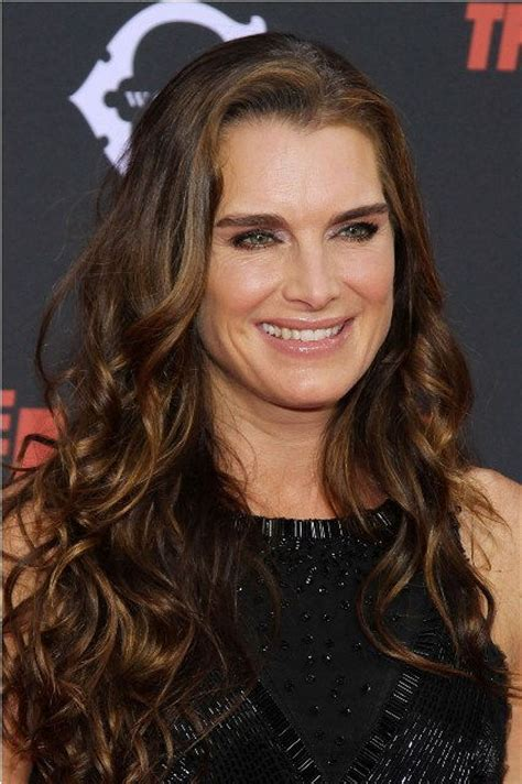 brooke shields bra size age weight height measurements