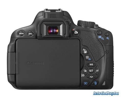 Kamera Dslr Canon 650d by Canon Eos 650d Letsgodigital