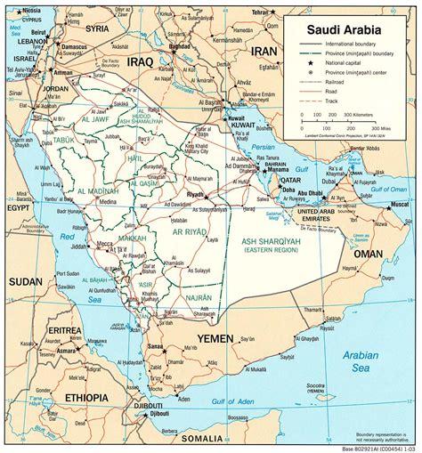 map arab saudi arabia maps perry casta 241 eda map collection ut library