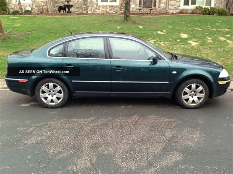 Volkswagen Passat Transmission by 2003 Volkswagen Passat 4 Motion All Wheel Drive Auto
