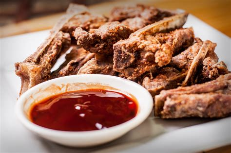 how to make deep fried spareribs 9 steps with pictures