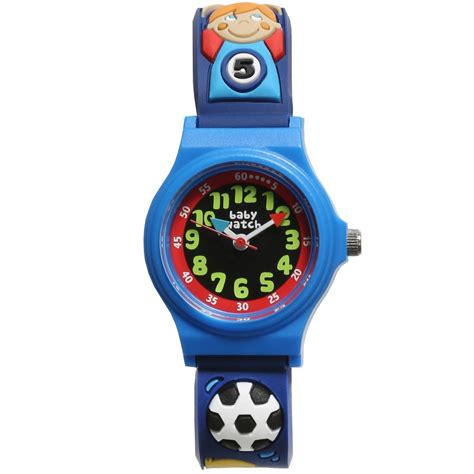 fb watch baby watch paris boys blue football quot my first watch