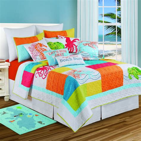 C F Quilts by Tropic Escape By C F Quilts Beddingsuperstore