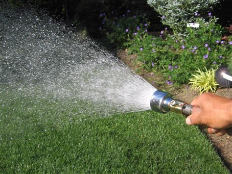 Garden Hose Shower How To Maintain Garden Hoses Sprinklers And Watering