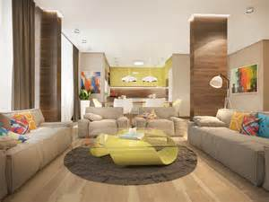 Tropical Colors For Home Interior by Stylish Family Home Features Bright Tropical Colors