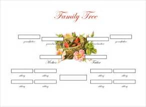 family tree pdf template family tree template 37 free printable word excel pdf