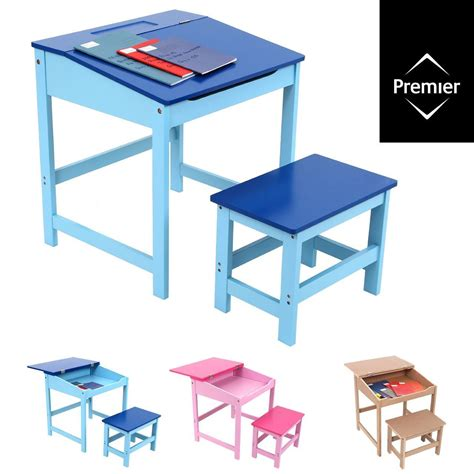 Homework Time Child School Set by Study Desk And Chair Set School Drawing Homework Table