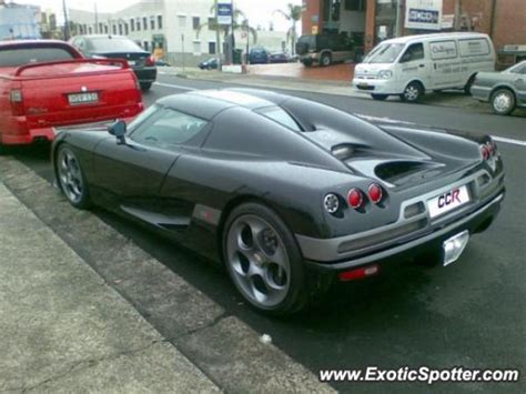 Koenigsegg Ccr Spotted In Sydney Australia On 10 25 2007
