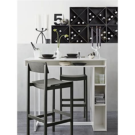 High Breakfast Table by White 42 Quot High Dining Table Grey High Dining