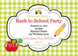 back to school invitation you pint by prettypartycreations