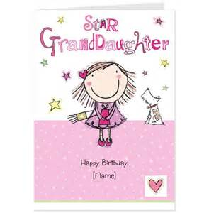Birthday Cards For Granddaughter Happy Birthday Granddaughter Quotes Quotesgram