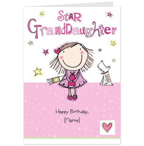 Granddaughter Birthday Cards Happy Birthday Granddaughter Quotes Quotesgram