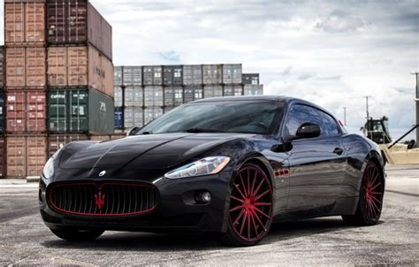 Maserati Big Black Wallpaper Matched And On Color Accents And