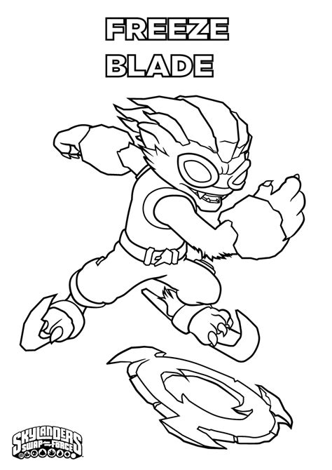 Skylanders #40 (Cartoons) – Printable coloring pages