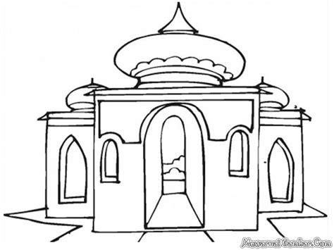 gambar mewarnai masjid kumpulan mewarnai gambar masjid ini apps directories